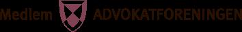 Logo_medlem_Advokatforeningen_farger